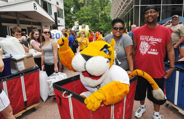 Students will overrun Towson's campus this weekend, as the Fall Semester is getting ready to begin.