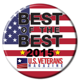 US Veteran's Magazine Best of the Best 2015 logo